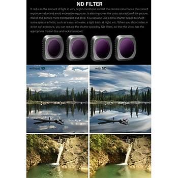 DJI Mavic 2 Pro Kamera Lens Filtresi Nötr Yoðunluk ND4