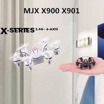 MJX X901 Beyaz Renk 3D Roll 2.4G 6-Axis First Nano Hexacopter
