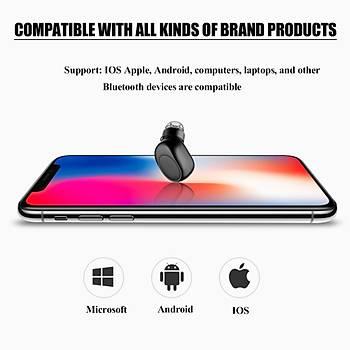 Manyetik Þarjlý Mini Bluetooth 4.1 Kulaklýk CVC 6.0 A2DP X11