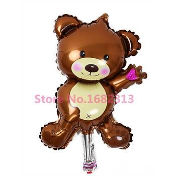 Folyo Balon TEDDY BEAR Parti Süsleme Doðumgünü
