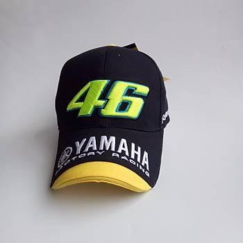 Yamaha Kasket Rossi VR46 MOTO GP Þapkasý 3D Ýþlemeli
