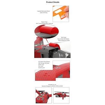 DJI Mavic 2 Pro PVC Karbon Desenli Full Body Çýkartma Seti