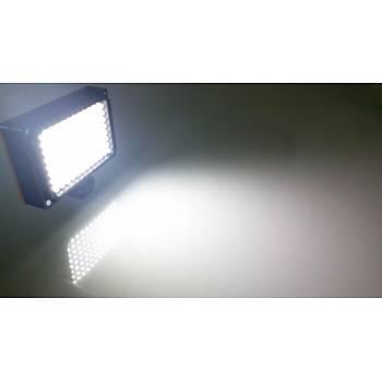 DSLR Kamera Üzerine Þarj Edilebilir 96 LED Video Iþýðý ve Filtresi