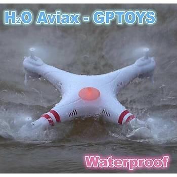 Su Geçirmez H2O Aviax 3D Eversion Kameralý DRON