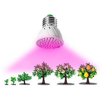 Tam Spektrum 60 Led Bitki Çiçek Büyütme Hidroponik Aydýnlatma