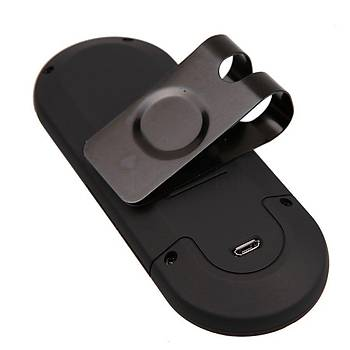 USB Bluetooth 3.0 Hoperlör Araç Kiti MP3 Çalar 2 Telefon Baðlanma
