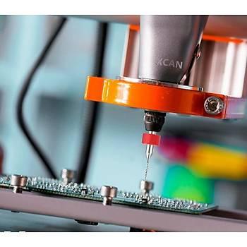 Mikro Karbür PCB Matkap Ucu Metal CNC Sondaj 10lu Set 3.1-4.0mm
