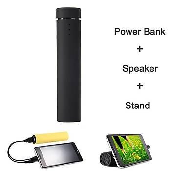 Remax Power Jam Hoperlör + Power Bank + Stand