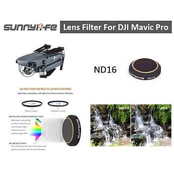 DJI Mavic Pro Alpine White Kamera Lens Ýçin ND16 Filtre Nötr Yoðunluk