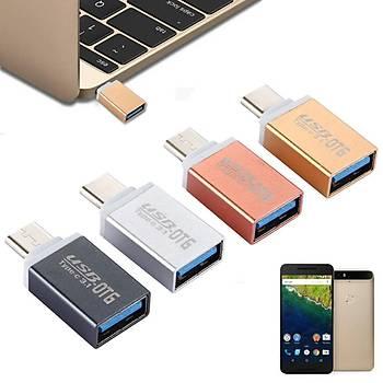 General Mobile 5 Plus için  Type-C OTG Flash Disc Aparat