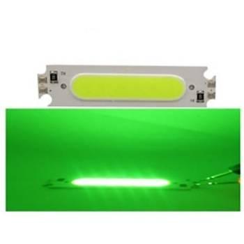COB LED Çip Yeþil 12V 2W 6015 PCB Bord DIY Iþýk Kaynaðý