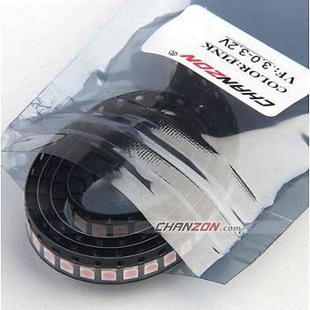 SMD 3528 PEMBE LED DÝYOT CHIP 350-400mcd
