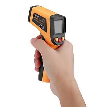 Dijital Temassýz Kýzýlötesi Termometre LCD Ekran Sýcaklýk Aletleri MESTEK MT380