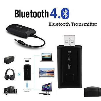 A2DP Bluetooth 4.0 Stereo Ses Müzik  Verici Adaptörü TV PC Telefon