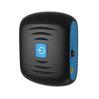 Bluetooth 4.2 TX RX Alýcý Verici 2 in 1 AUX Giriþi Þarj Edilebilir Modül