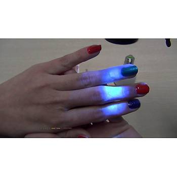 UV 3W High Power Chip UV Mor LED 390-395nm Iþýk