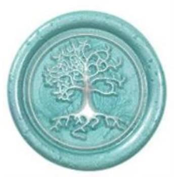 Mektup Damga Mühürü Tree Of Life + 30 Mühür Mumu + Eritme Kaþýðý
