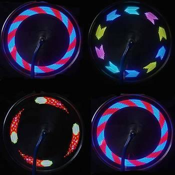 14 LED Motosiklet Bisiklet Tekerlek Jant Su Geçirmez LED Iþýk