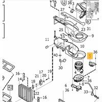 VOLVO S60 S80 V70 XC70 XC90 Kalorifer Rezistansý (Güç Ünitesi)