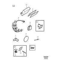 Volvo S80 Park Sensör Gözü Çevre Plastiði