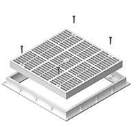 Kare Dip Süzgeç - Main Drain Square 26,5 X 26,5 cm