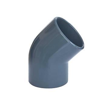 Dirsek - Elbow 50 mm 45°