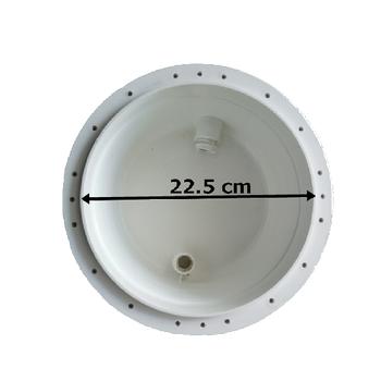 BEYAZ / WHITE Tek Renk LED 2002 Havuz Aydýnlatma Lambasý Komple