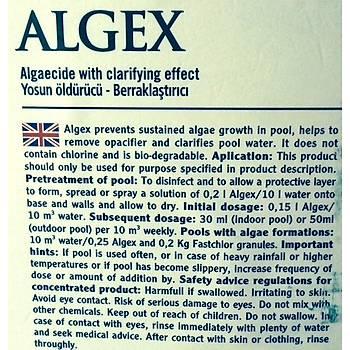 Yosun Öldürücü & Parlatýcý - Algicides Killer & Clarifier Algex 5 Lt