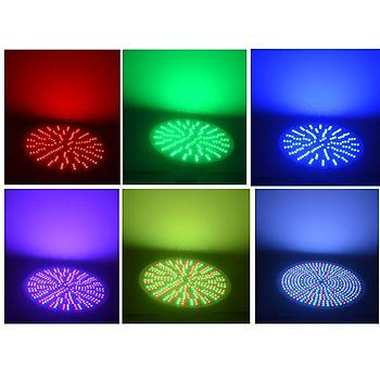 RGBW ve Beyaz Ampul - RGBW and White Bulb Par56-15 W