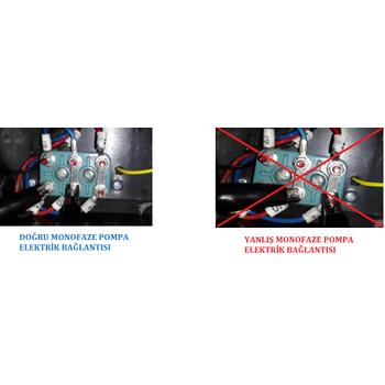 Reçine Pompa 5 Yýl Garanti - Resin Pump 1Hp
