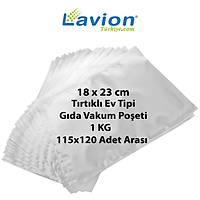 Lavion 18x23 Cm Ev Tipi Týrtýklý Gýda Vakum Poþeti
