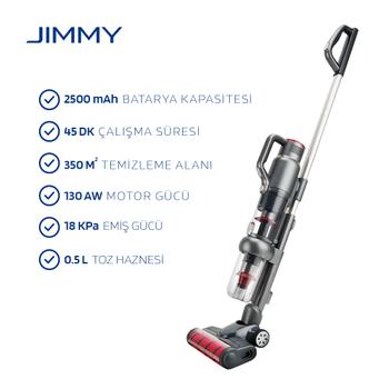 Jimmy JV71 Handheld Vacuum Cleaner Dikey Þarjlý Süpürge (Jimmy Türkiye Distribütör Garantili)