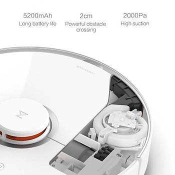 Xiaomi Mi Roborock S50 Robot Vacuum Cleaner2 Akıllı Robot Süpürge