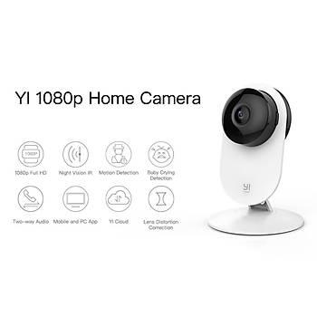 Xiaomi Yi Home 1080P Bebek Ağlamasına Duyarlı Gece Görüşlü Kamera