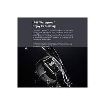 Haylou LS02 1.4 Ýnç LCD Ekran Akýllý Saat - IP68 Suya Dayanýklý