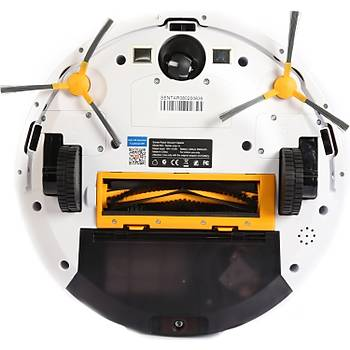 Sentar Mop 1S Robot Süpürge ve Paspas Beyaz - Sentar Türkiye Garantili Vacuum Robot Mop