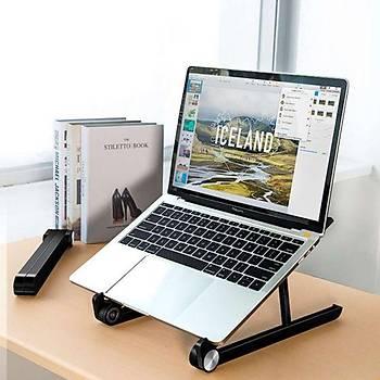 Bix Saiji X1 Alüminyum Notebook Laptop Standý Siyah