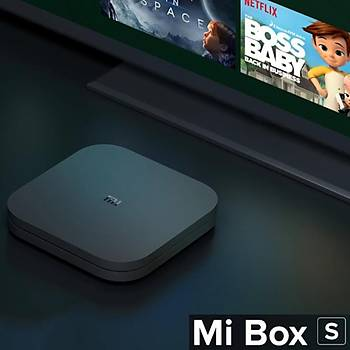 Xiaomi Mi Box S 4K Ultra HD - GLOBAL VERSÝYON