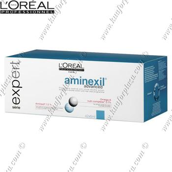 LOREAL AMINEXIL ADVANCED 42X6 ML. AMPUL