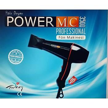 MC POWER 3200 FÖN MAKİNASI 2500 WATT PERFORMANCE