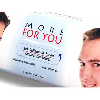 MORE FOR YOU KULLANAT HAVLU 50 ADET KATLANMIÞ PAKET