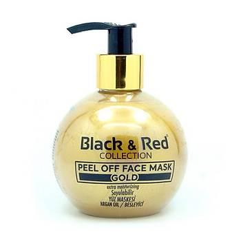 BLACK & RED SOYULABÝLÝR YÜZ MASKESÝ GOLD 250 ML.