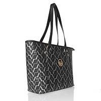 Versace 19v69 İtalia Bayan Çantası Monogram Baskılı Siyah 3611