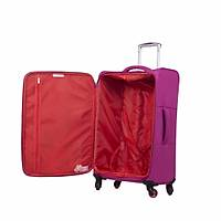 IT LUGGAGE KUMAŞ 3'LÜ VALİZ SETİ FUŞYA 2152