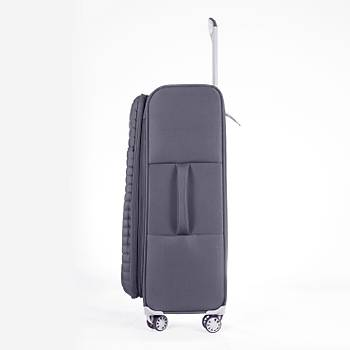IT LUGGAGE BÜYÜK BOY KUMAÞ VALÝZ GRÝ 2148