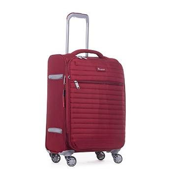 IT LUGGAGE KUMAŞ 3 LÜ VALİZ SETİ BORDO 2148