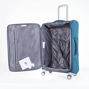 IT LUGGAGE KUMAÞ 3 LÜ VALÝZ SETÝ MAVÝ 2148