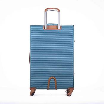 IT LUGGAGE ORTA BOY KUMAÞ VALÝZ MAVÝ 2262