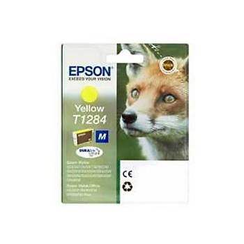 Epson T1284 Bx305f, Sx125, Sx130, sx230 Sarý Kartuþ