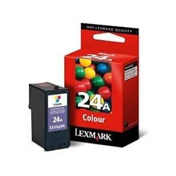 Lexmark 18C1624E X4500, 4550, 3500 Renkli Kartuþ